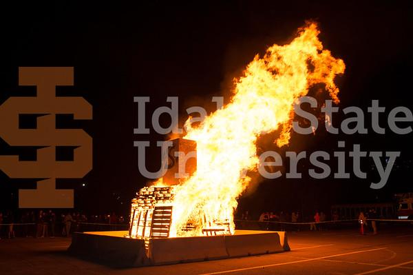Homecoming Bonfire 2016