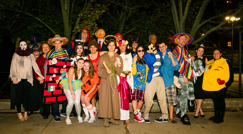 I Scare 5 Halloween Party - Group Photo