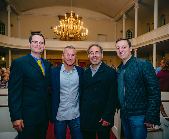 (L-R) Alex Goldfeld, Stephen Passacantilli, James Pasto and State Senator Joseph Boncore