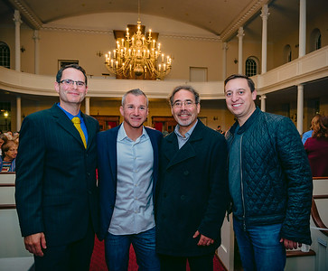 (L-R) Alex Goldfeld, Stephen Passacantilli, James Pasto and State Senator Joseph Boncore