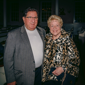 Arthur Lauretano with his wife, representing the Friends of the North End, featured in the film
