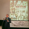 Alex Goldfeld, President of the North End Historical Society