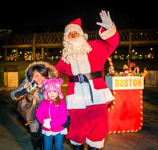 Greetings with Santa