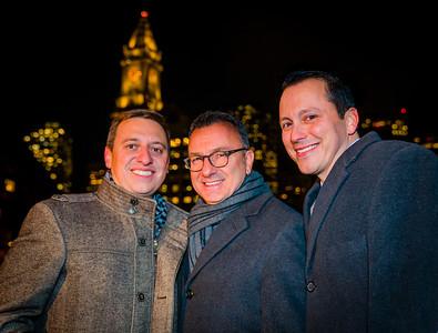 Political trifecta, (L-R) Sen. Joe Boncore, Councilor Sal LaMattina and Rep. Aaron Michlewitz