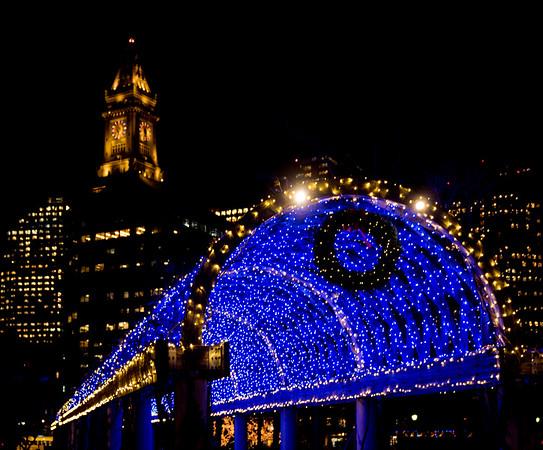 2016-11   Trellis Lighting at Christopher Columbus Park