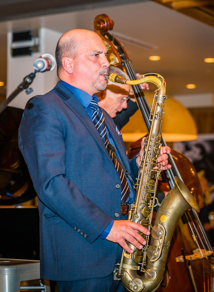 Jazz saxophonist Marco Pignataro