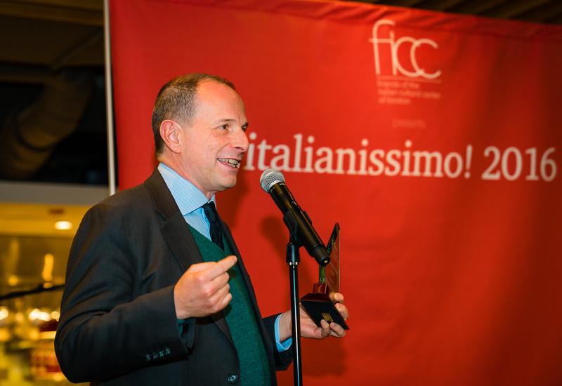 Federico Cortese, Boston Youth Symphony Orchestra Director and recipient of the 2016 Thomas M. Menino Award