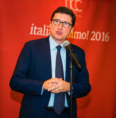 Nicola DeSantis, Consul General of Italy