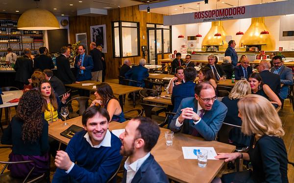 Socializing at italianissimo! 2016