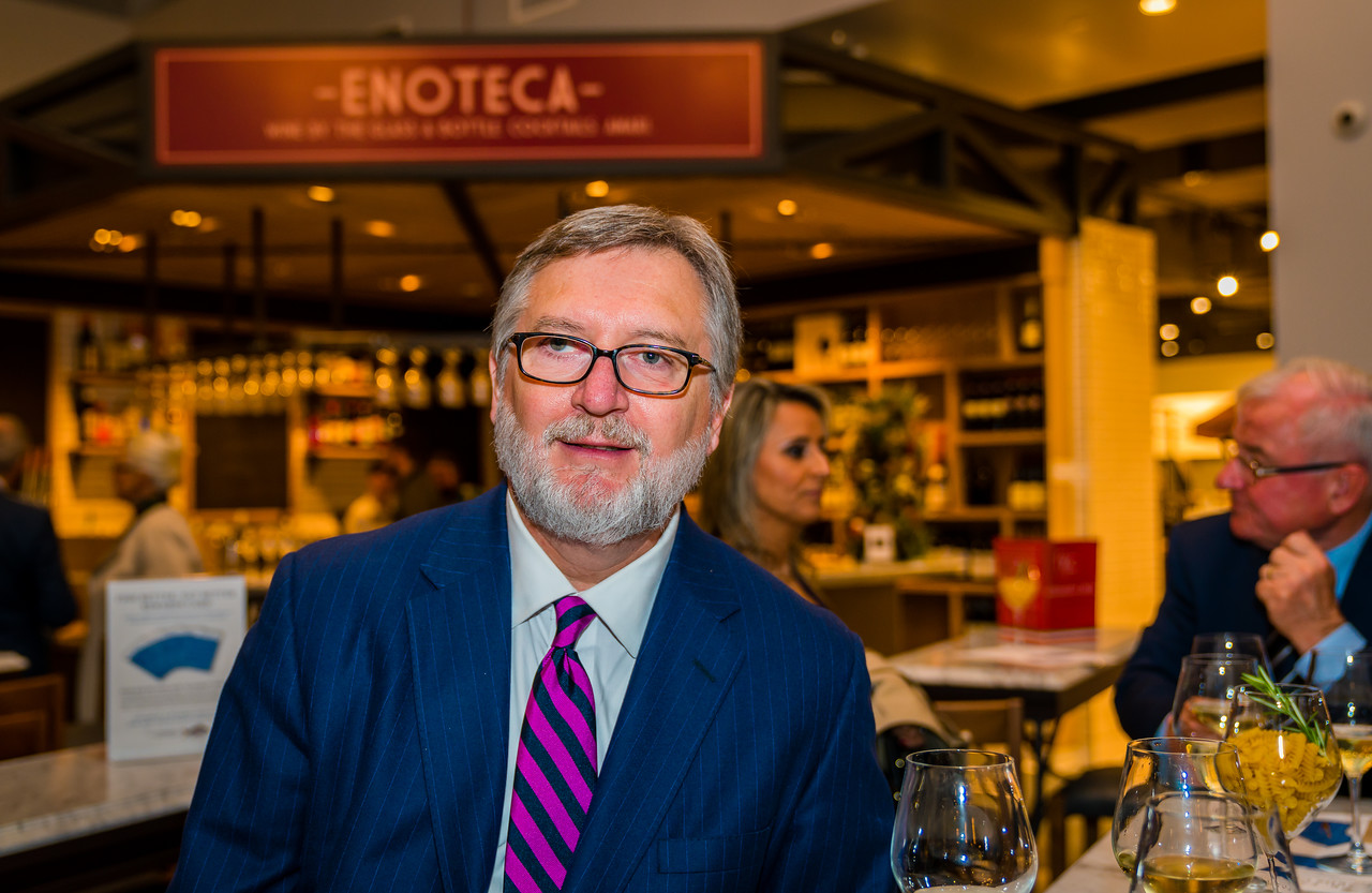 Ettore Santucci, President of the Friends of the Italian Cultural Center in Boston at Eataly