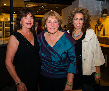 Post Gazette Publisher Cav. Pam Donnaruma with Angela Menino and Susan Fenton