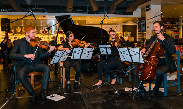 Italian Baroque music by Berklee School of Music String Quartet