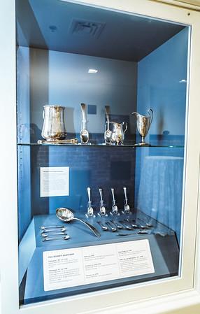 Paul Revere silver exhibit