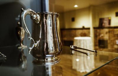 Paul Revere silver display
