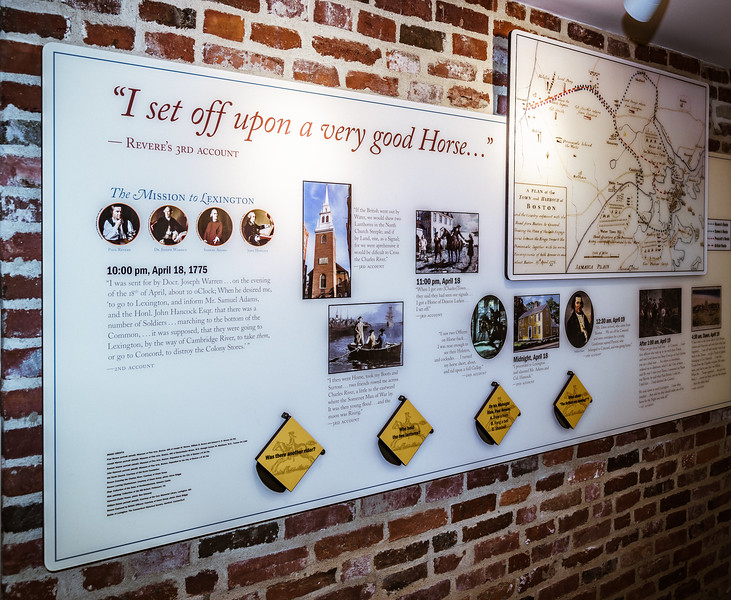 Paul Revere's Midnight Ride Exhibit