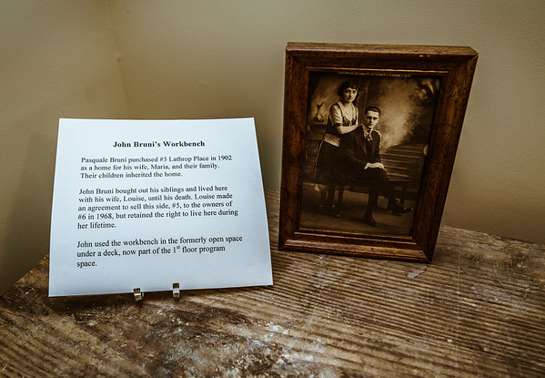 Story of past owner John Bruni's Workbench