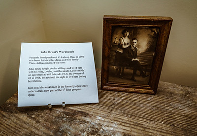 Story of past owner John Bruni's Workbench