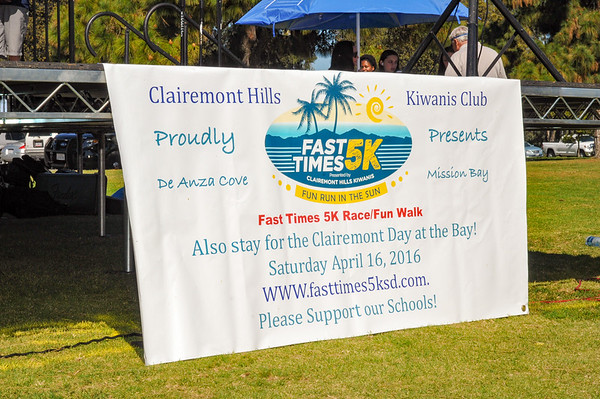 2016 Fast Times 5k Clairemont Day at the Bay