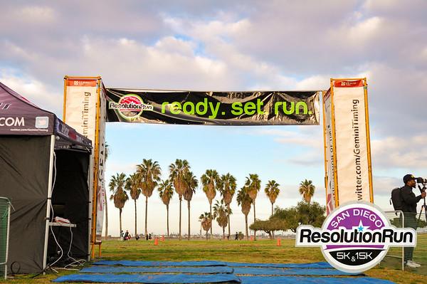 2016 Resolution Run Finish