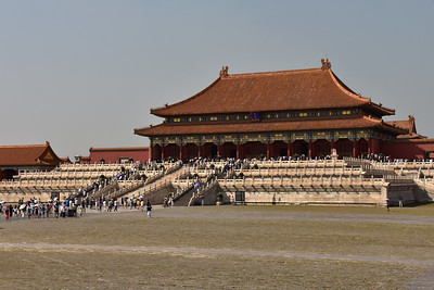 The Forbidden City in Beijing