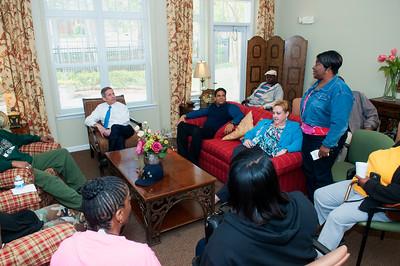 Dep Sec of VA Sloan D Gibson visits Tyvola II Crossing 4-8-16 by Jon Strayhorn