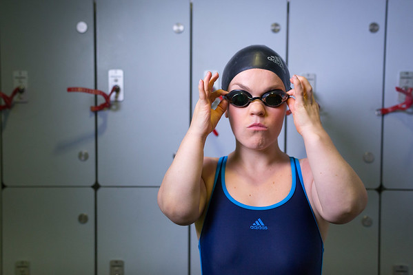 Ellie Simmonds OBE with Water Aid