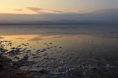 Danakil salt lake