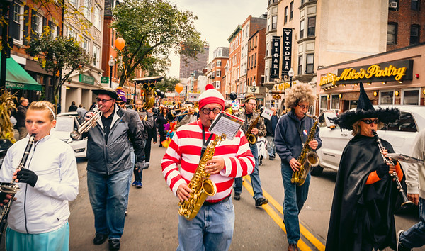 2016-10   Halloween Parade in North End
