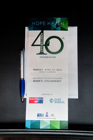 Hope Haven 40th Anniversary Presents Darryl Strawberry 4-19-16 by Jon Strayhorn