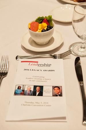 2016 Leadership Charlotte Legacy Awards Breakfast @ Charlotte Convention Center 5-5-16 by Jon Strayhorn