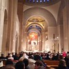 The Basilica was packed with people coming to participate in the closing mass of the National Day to Life.