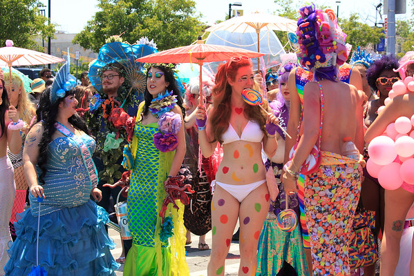 The Mermaid Parade