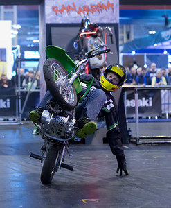 Motorcycle Live 2016 - Lee Bowers Stunt Show