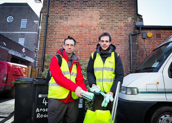Surrey Waste Intervention Day with Keep Britain Tidy