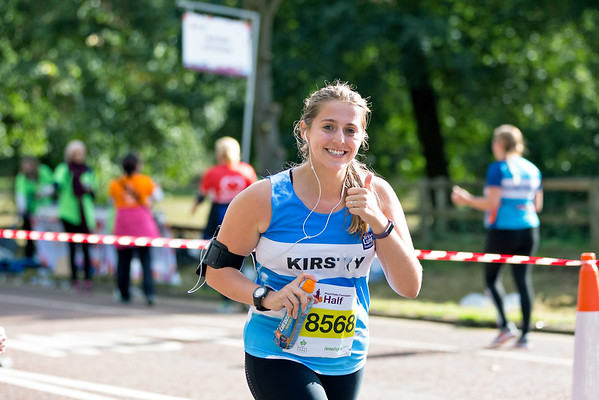 The 2016 Royal Parks Half Marathon with the British Lung Foundation