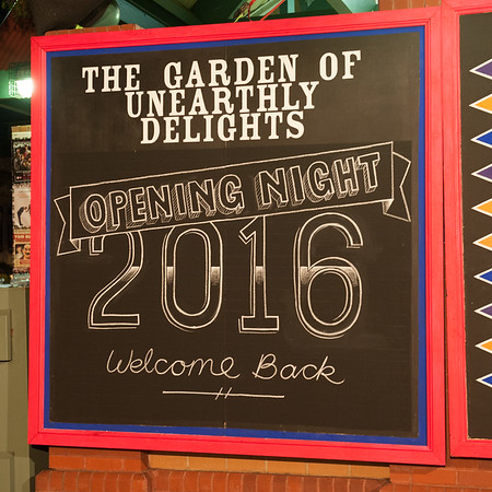 The Garden of Unearthly Delights 2016 opening