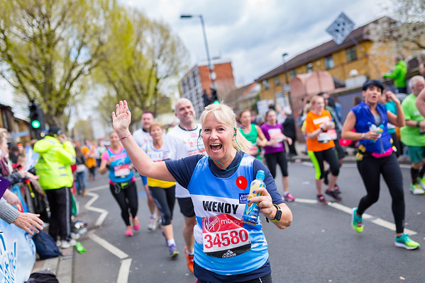 The London Marathon with the British Lung Foundation