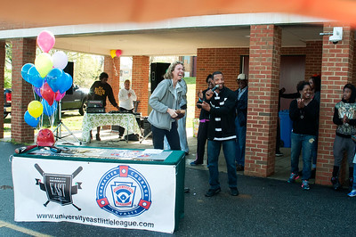 University East Little League Opening Day Ceremony 4-2-16 by Jon Strayhorn