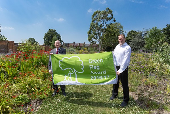 Walthamstow Green Flag Awards 2016 with Keep Britain Tidy