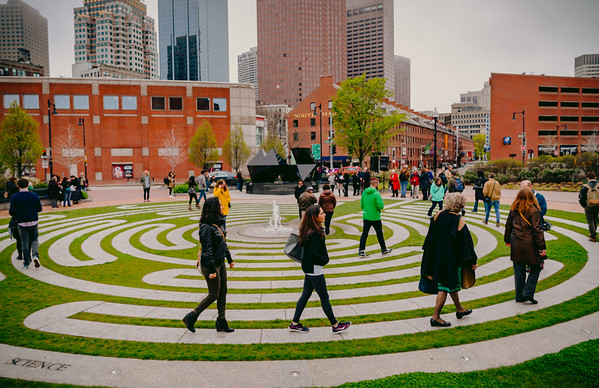 2016-05   World Labyrinth Day & Abstract Sculpture Celebration