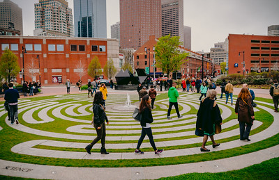 World Labyrinth Day in Boston