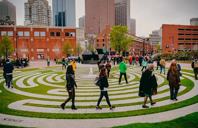 World Labyrinth Day in Boston