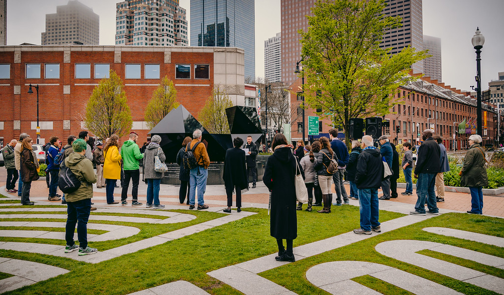 Reception to View the 2016 Configuration of the  Abstract Sculpture