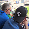 Yankee game Steve and Kevin April 23, 2016