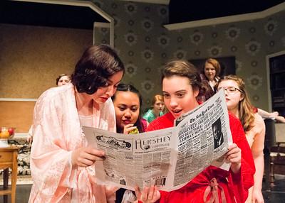 "2016.03.09 ""Stage Door"" at Hillsdale High School"