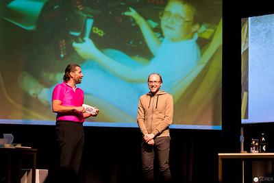 """Österreich Premiere des Science Buster Programms """"Bierstern, ich dich grüßen"""" im Stadtsaal"""