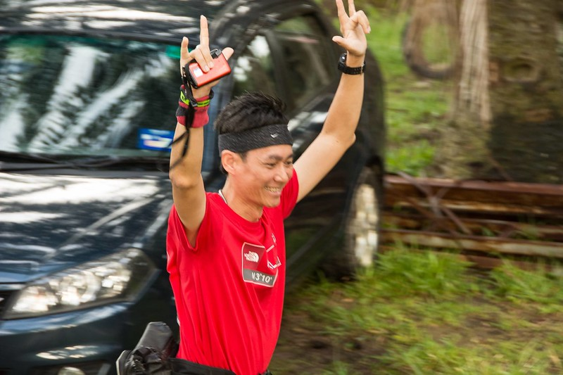 Right after the starting line. Still can smile.<br /> <br /> Photo credit: Joseph Yong