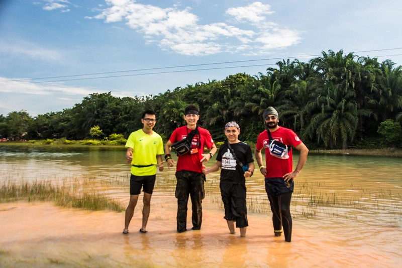 At the river crossing.<br /> <br /> Photo credit: Joseph Yong