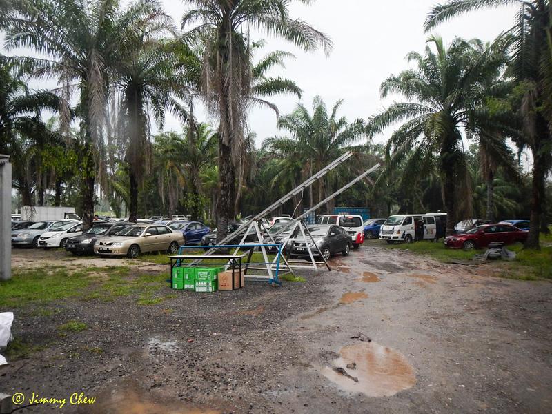 Car park.
