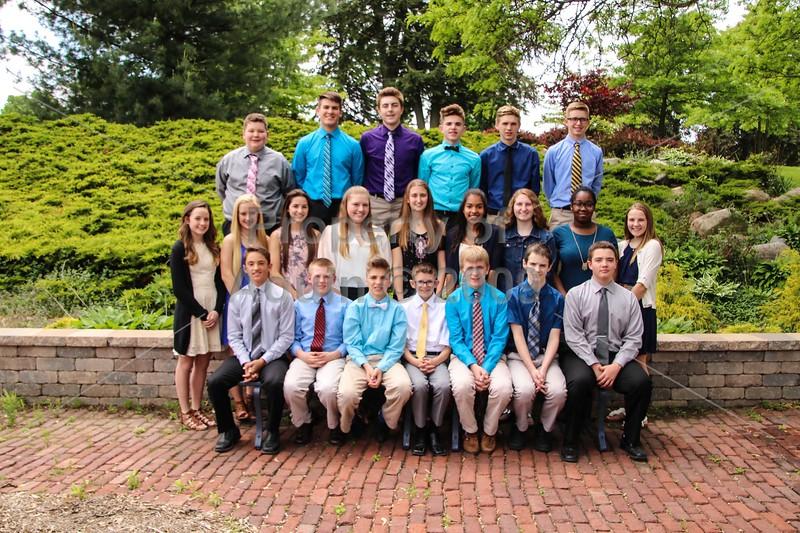 8th grade promotion 2017